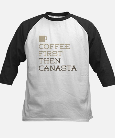 Coffee Then Canasta Baseball Jersey