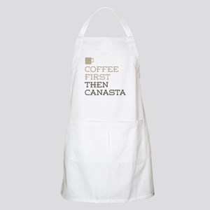 Coffee Then Canasta Apron