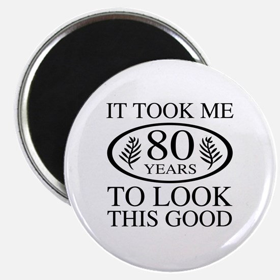Funny 80th Birthday Magnet