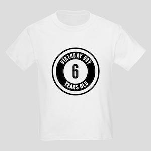 Birthday Boy 6 Years Old T-Shirt