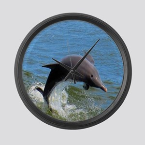 Dolphin Large Wall Clock
