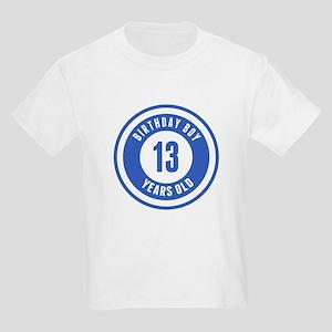 Birthday Boy 13 Years Old T-Shirt