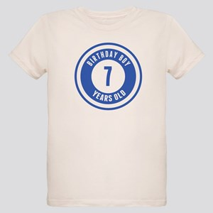 Birthday Boy 7 Years Old T Shirt