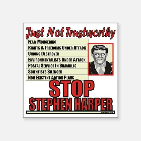 Stop Harper Sticker