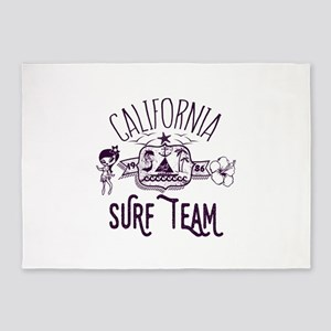 California Surf Team 5'x7'Area Rug