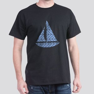 Chevron Sailboat Dark T-Shirt