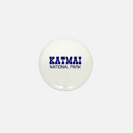 Katmai National Park Mini Button