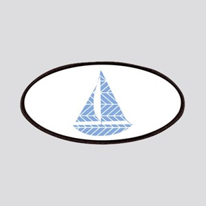 Chevron Sailboat Patch
