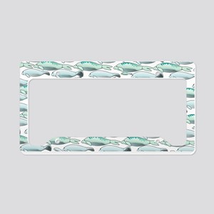 Manatees and Dugongs Swimming License Plate Holder