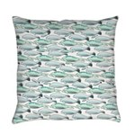 Manatees and Dugongs Swimming Everyday Pillow