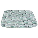 Manatees and Dugongs Swimming Bathmat