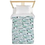 Manatees and Dugongs Swimming Twin Duvet