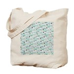 Manatees and Dugongs Swimming Tote Bag