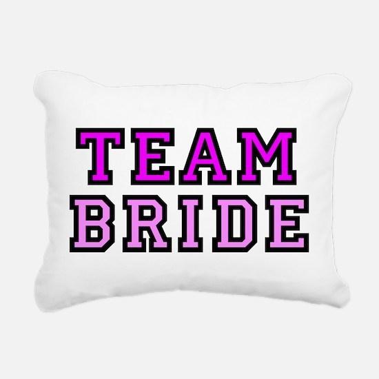 Cute Team bride Rectangular Canvas Pillow