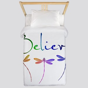Believe...dragonflies Twin Duvet