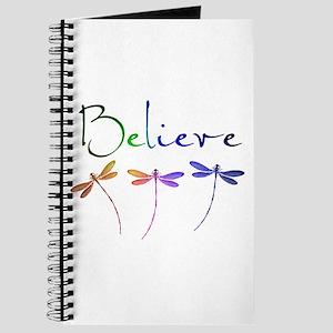 Believe...dragonflies Journal