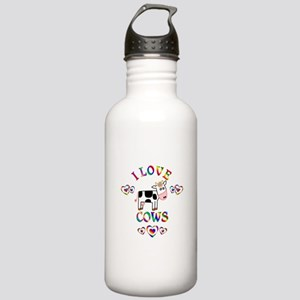 I Love Cows Stainless Water Bottle 1.0L