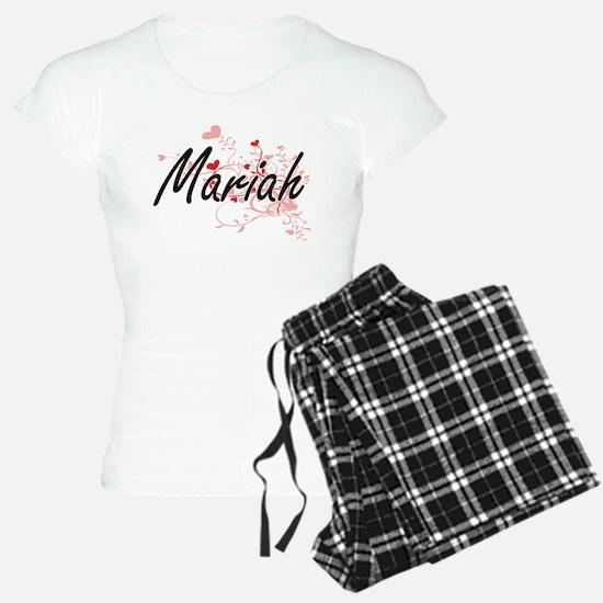 Mariah Artistic Name Design Pajamas