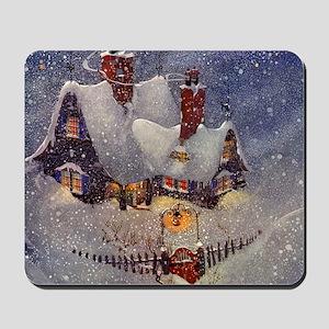 Vintage Christmas Mousepad