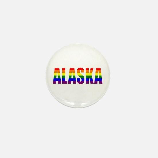 Alaska Gay Pride Mini Button