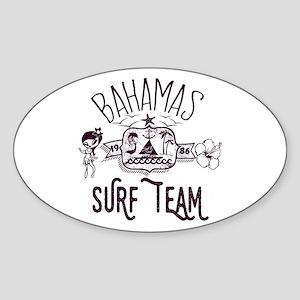 Bahamas Surf Team Sticker