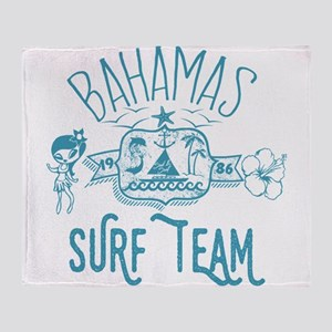 Bahamas Surf Team Throw Blanket