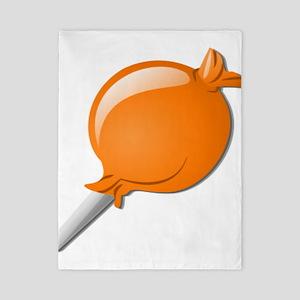 Lollipop Orange Twin Duvet