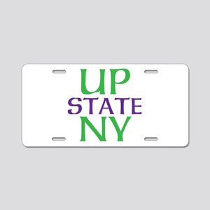 UPSTATE NY Aluminum License Plate