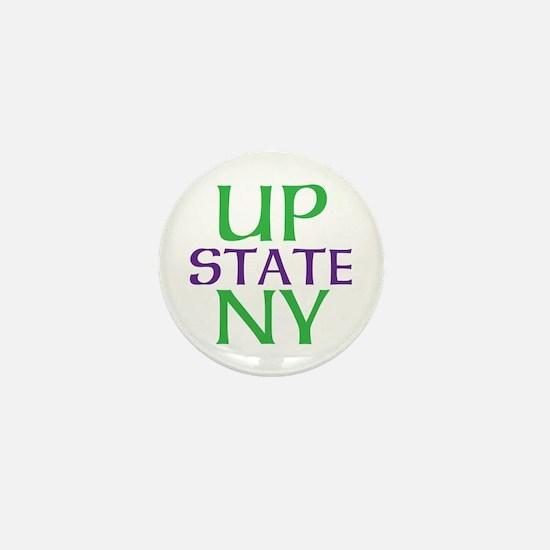 UPSTATE NY Mini Button