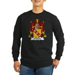 Chatelet Family Crest Long Sleeve Dark T-Shirt