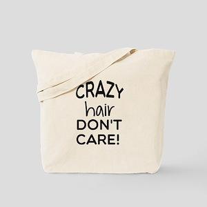 Crazy Hair Tote Bag