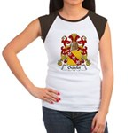 Chatelet Family Crest Women's Cap Sleeve T-Shirt