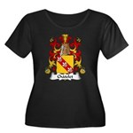 Chatelet Family Crest Women's Plus Size Scoop Neck