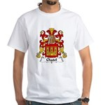 Chatel Family Crest White T-Shirt