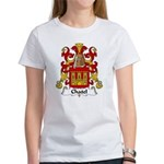 Chatel Family Crest Women's T-Shirt