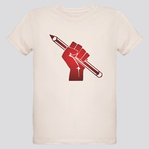 Pencil in a Raised Fist T-Shirt