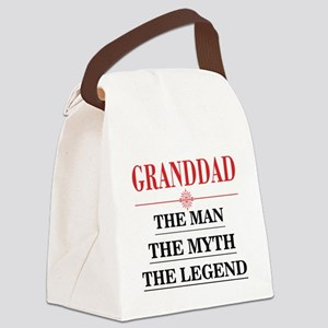 Granddad the man the myth the legend Canvas Lunch