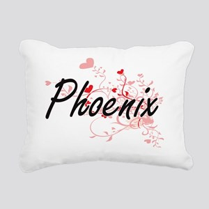 Phoenix Artistic Name De Rectangular Canvas Pillow