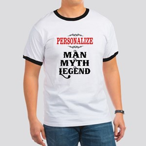 Custom Man Myth Legend Ringer T