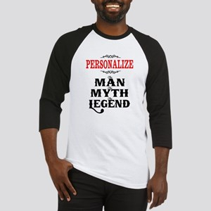 Custom Man Myth Legend Baseball Jersey