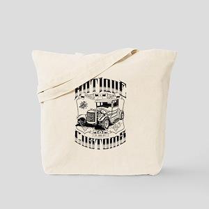 Hot Rod - Antique Customs (black) Tote Bag