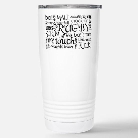 Rugby Subway Art Mugs
