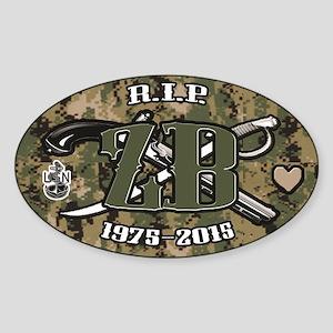 RIP ZB AOR2 Sticker (Oval)