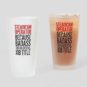 Steadicam Operator Badass Drinking Glass