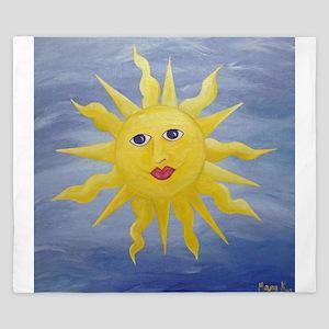 Whimsical Sun King Duvet