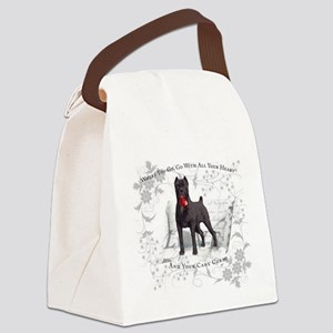 Cane Corso Canvas Lunch Bag