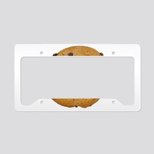 Chocolate Chip Cookie License Plate Holder