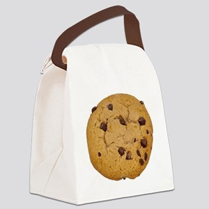 Chocolate Chip Cookie Canvas Lunch Bag