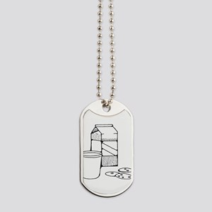 Milk and Cookies Dog Tags