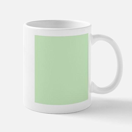 Solid Mint Green Mugs